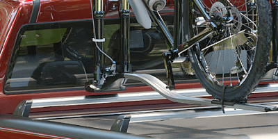 Mountain Top Cargo Carriers compatible with most bike and roof racks e.g. Thule