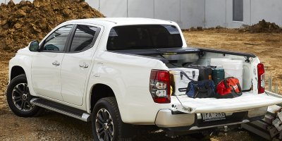 Mitsubishi Triton with Mountain Top Bed Management System
